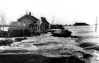 Dike breach and flooding in the 1953 disaster
